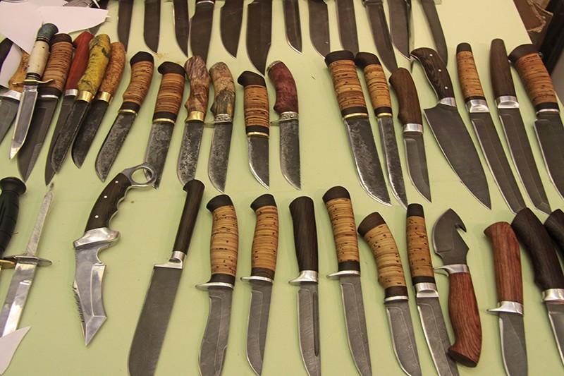 Наборные ручки для ножей